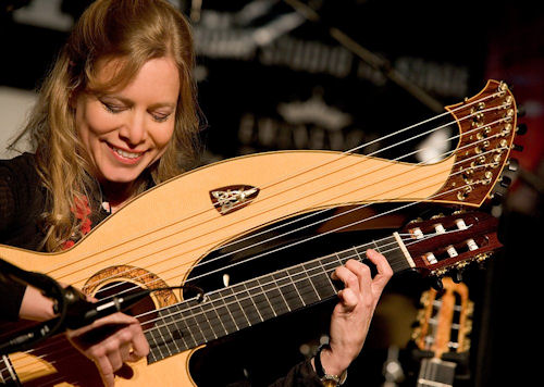Muriel Anderson on Harp Guitar